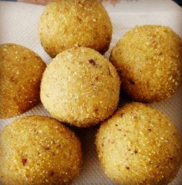 Gram Flour Semolina ( Besan Sooji ) ladoo Recipe