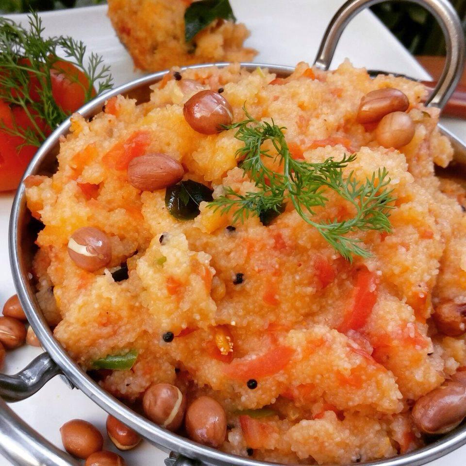 Tomato Upma Recipe
