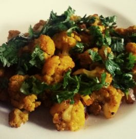 Gobhi Aloo Stir Fry Curry Recipe