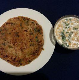 Onion Paratha/Pyaz ke Parathe Recipe