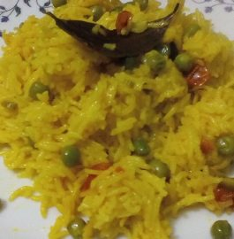 Peas Tehri Recipe