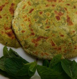 Palak Pudina Paratha Recipe