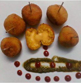 Cheese Paneer Balls - Delicious Snack