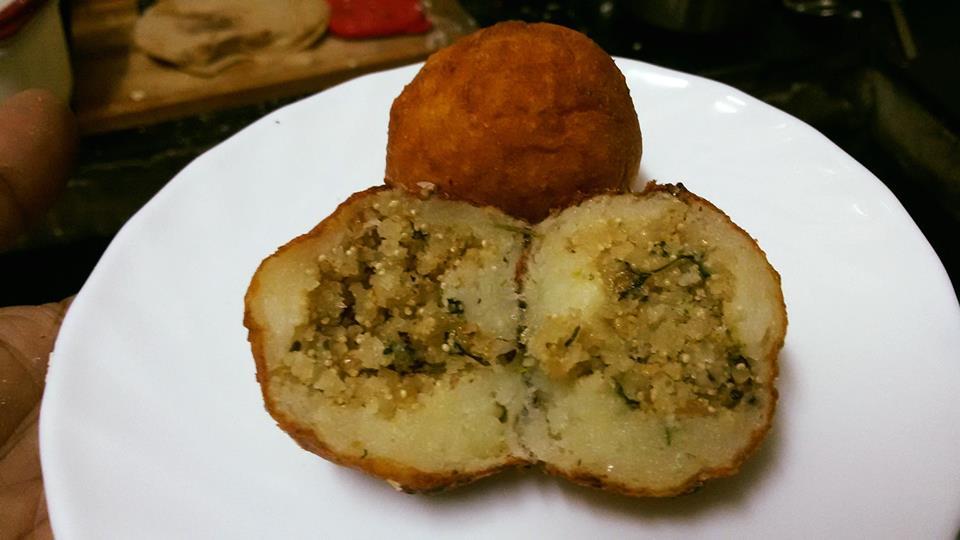 Sweet Aloo Kachori - Delicious Snacks