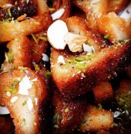 Sweet Bread Bites : Yummy Dessert !
