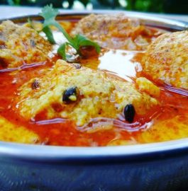 Cabbage Kofta : A Delicious Rich Curry