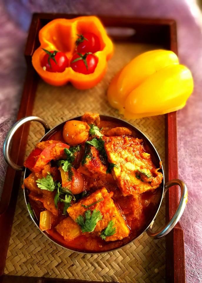 Paneer Rangeela - Quick and Delicious