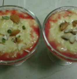 Kashiphal Phirni - Delicious Dessert!
