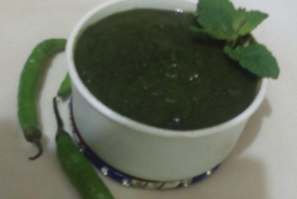 Mint Chutney - Instant Recipe