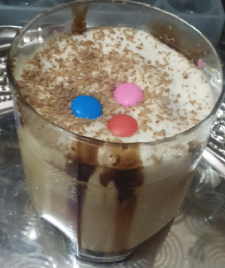 Coffee Chocolate Shake - Delicious!