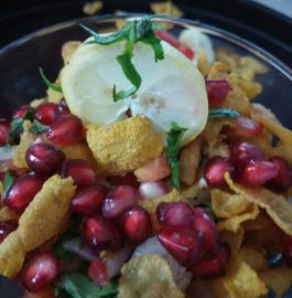 Cornflakes Chaat - Quick and Crispy