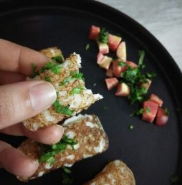 Stuffed Mini Dosa - Healthy Snack!