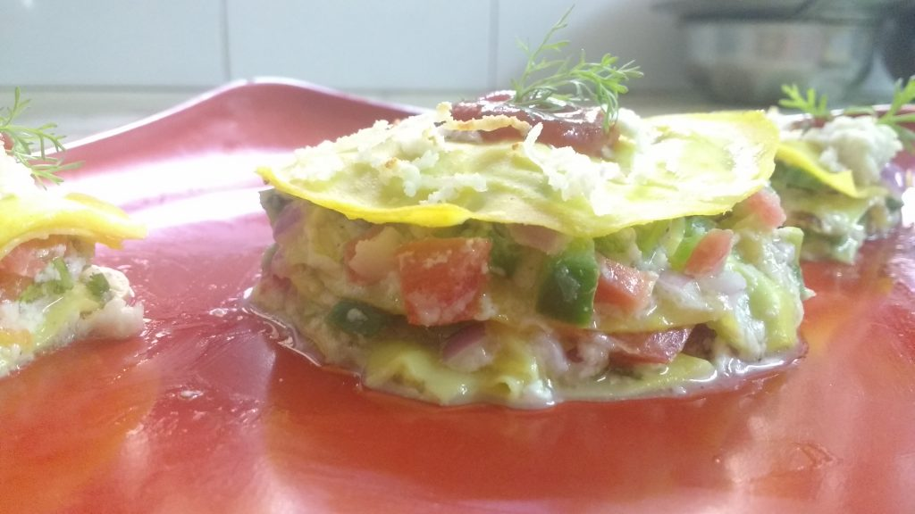 Khandavi Vegetarian Lasagna - Tasty