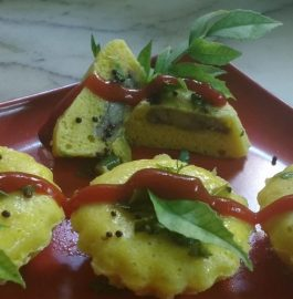 Stuffed Muffin Dhokla - Yummy Breakfast