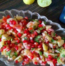 Aloo Chaat / Potato Salad - Yummy Recipe