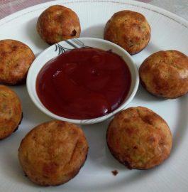 Oats Sooji Veggie Paniyaram - Healthy!