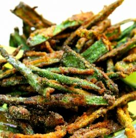 Kurkuri Besan Bhindi - Delicious Sabzi