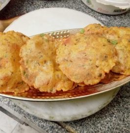 Multigrain Aloo Methi Masala Poori- Wholesome Meal
