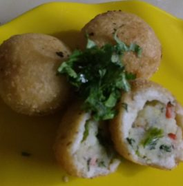 Stuffed Sama Rice Balls - Fasting Recipe