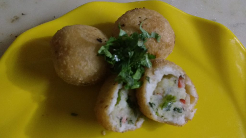 Stuffed Sama Rice Balls - Fasting Recipe