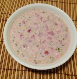 Strawberry Kheer - Delicious