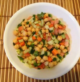 Chickpea Salad - Healthy Appetizer