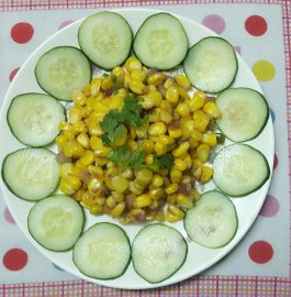 Masala Corn - tasty snack