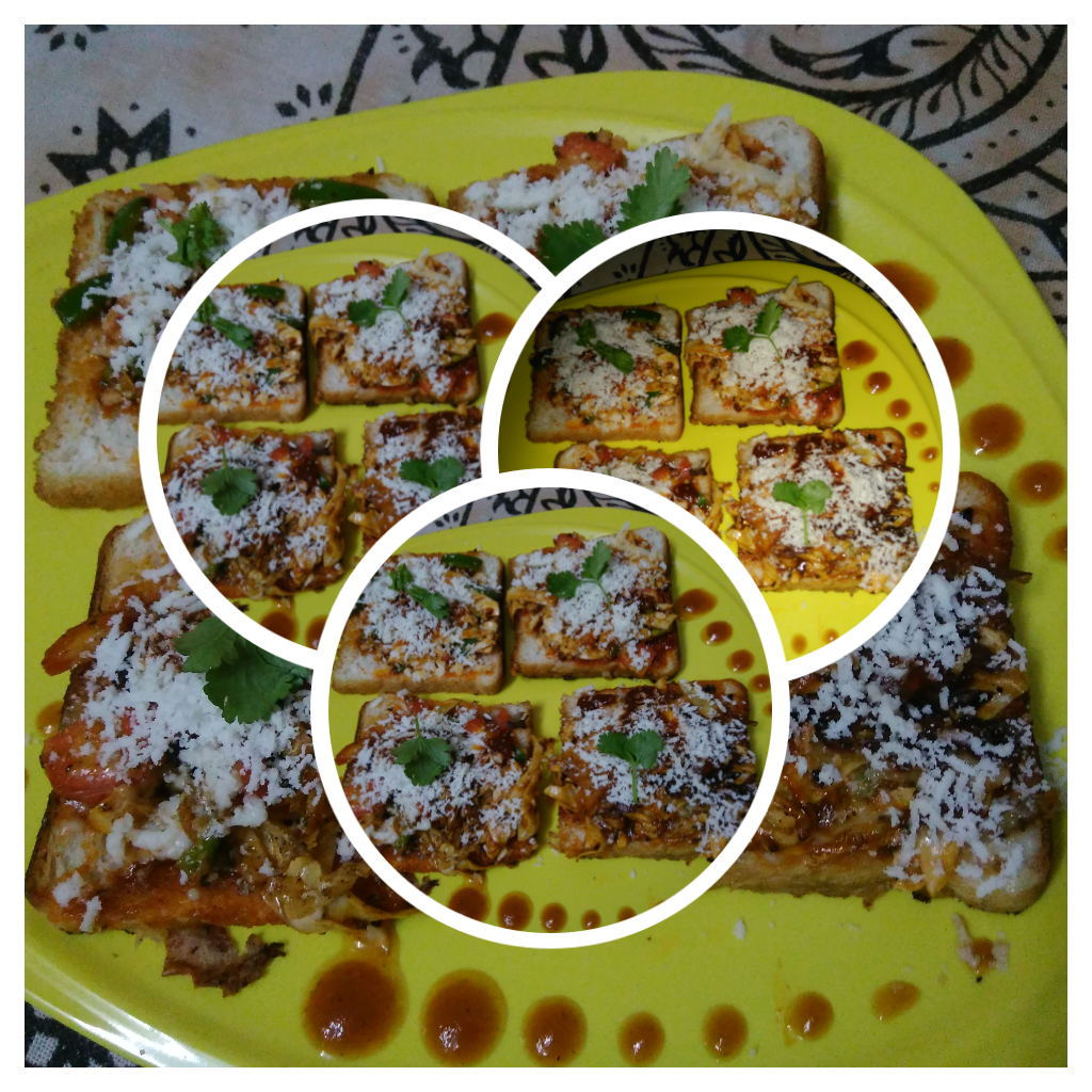 Indian Style Pizza - Delicious Snack!