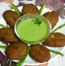 Kuttu Aloo Cutlets - Crispy Snacks