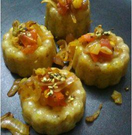 Sabudana Muffins - Innovative Recipe!