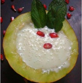 Muskmelon Coconut Blast - Refreshing!!