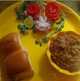Pav Bhaji - Delicious and Healthy!!