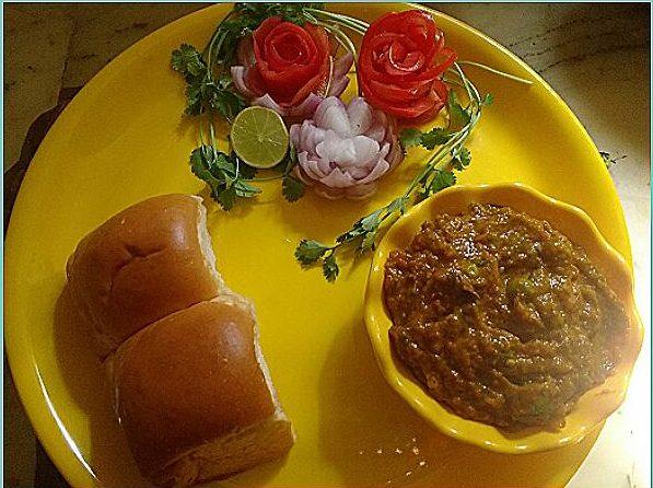 Pav Bhaji - Delicious and Healthy!!