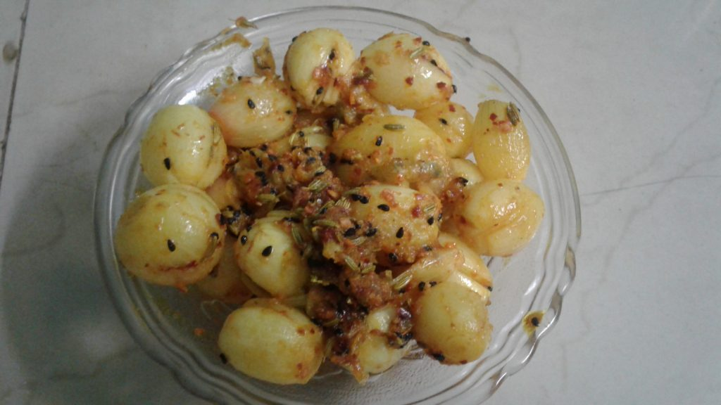Ready to Eat Onion Pickle - Instant Recipe!