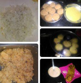 Leftover Rice Tikki - Yummy Snacks!!
