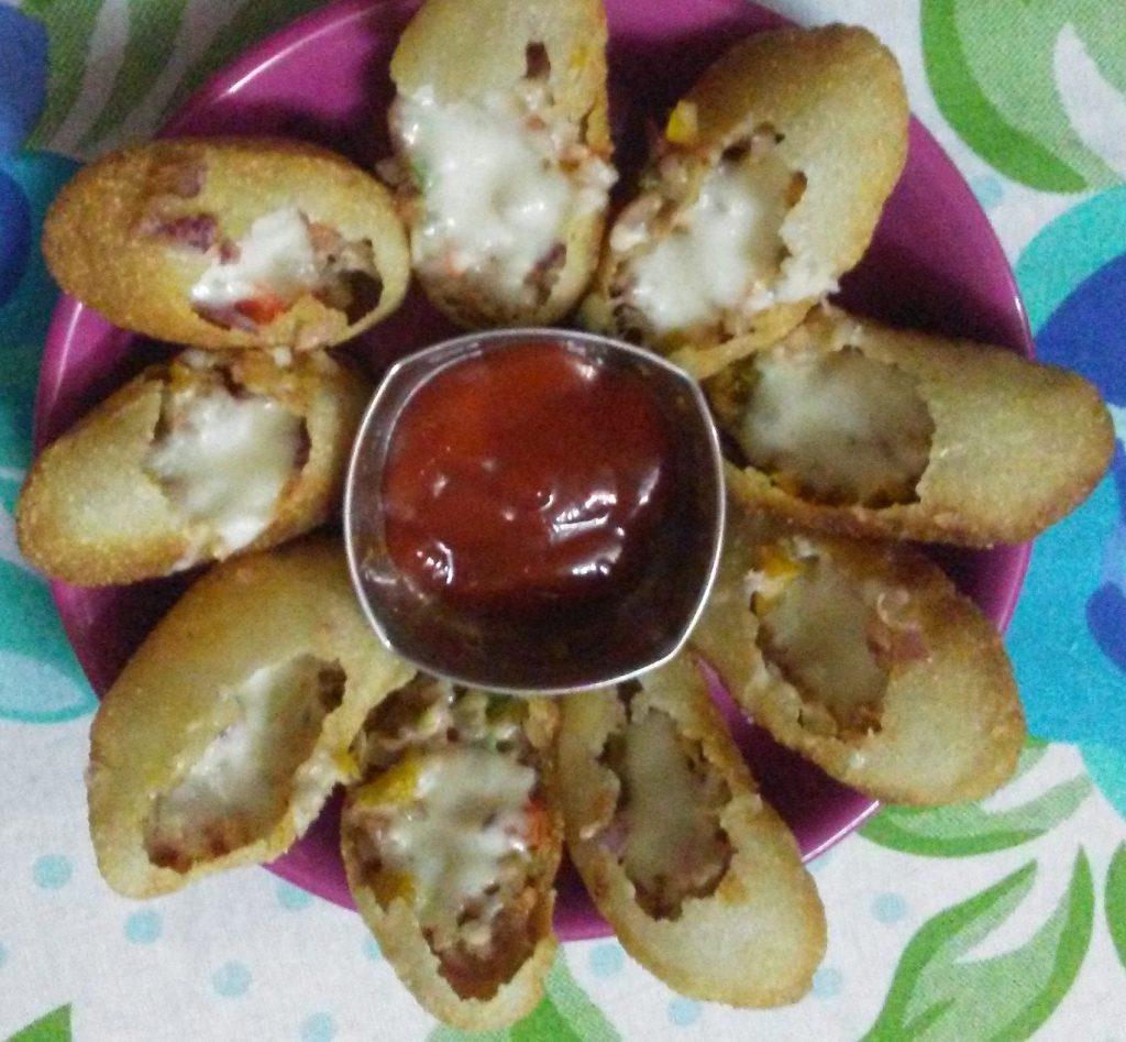 Golgappa Pizza - Instant Snacks!!!