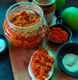 Kacche Aam Ka Hing Wala Achaar - Tasty Pickle Recipe