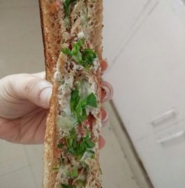 Hung Curd Sandwich - Healthy Bite