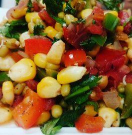 Corn Chaat - Spicy & Instant Snacks