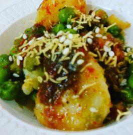 Potato Peas Chat Recipe