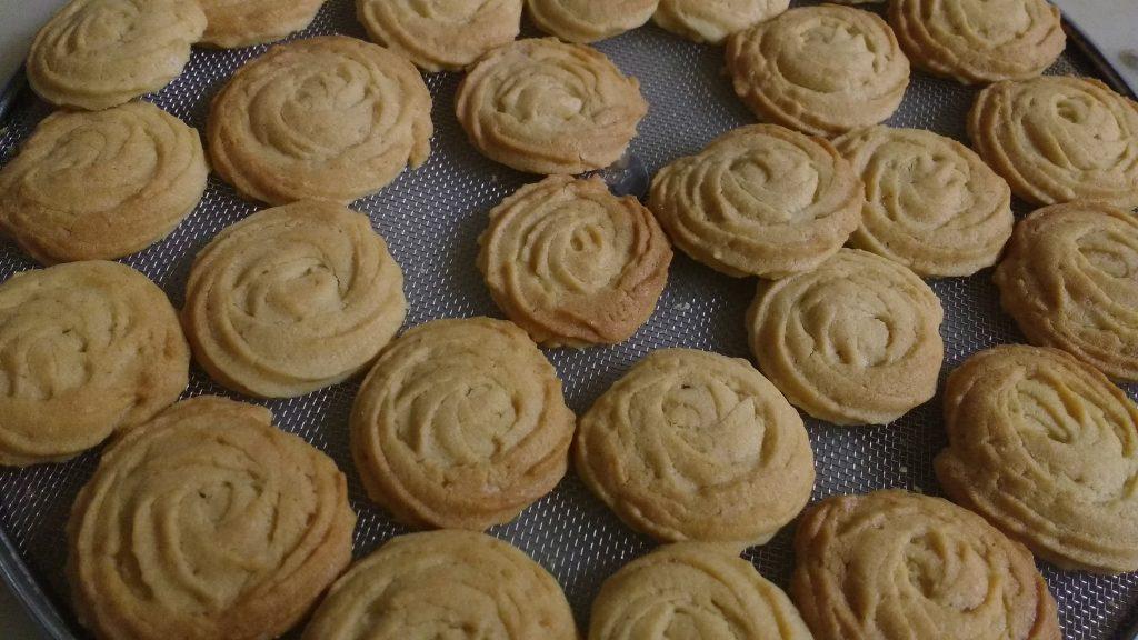 Custard Butter Cookies - Tasty Snack