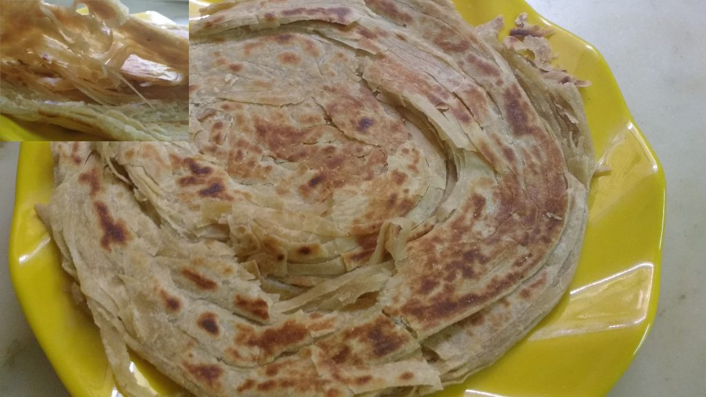 Lachha Paratha - Flaky Bread!