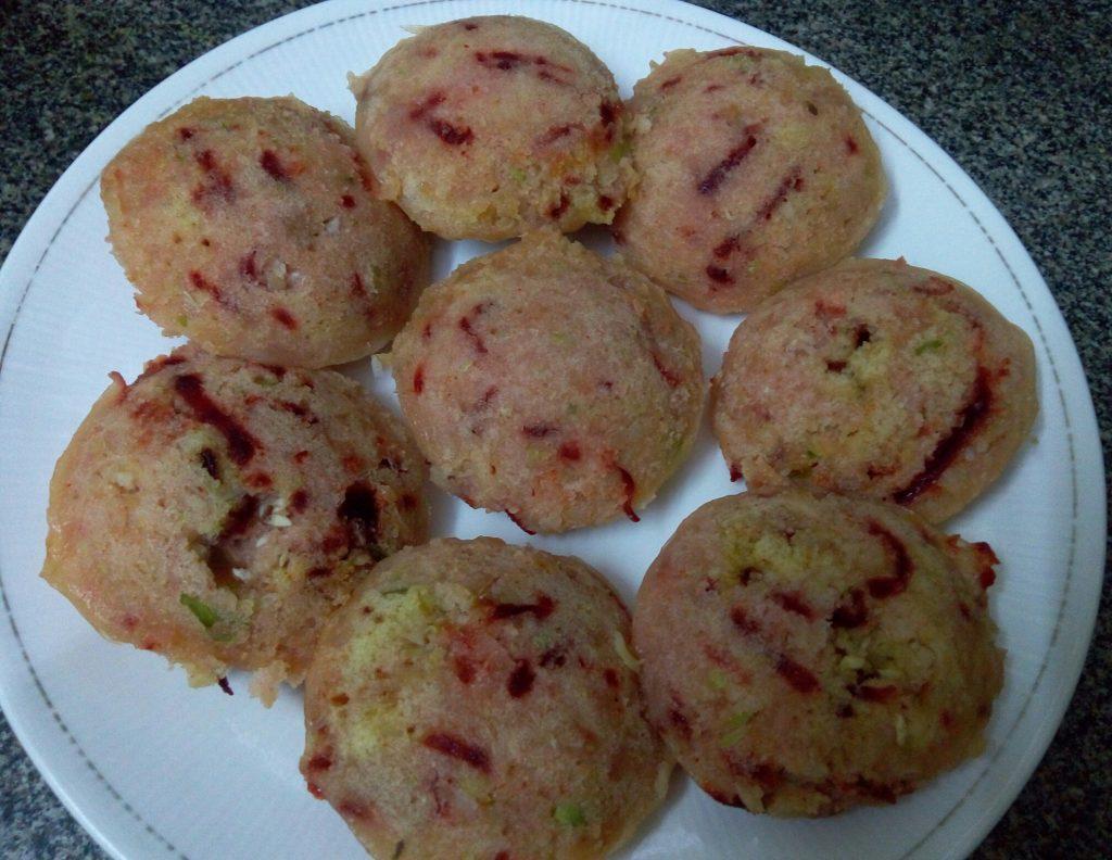 Rawa Veggie Idli - Instant Breakfast