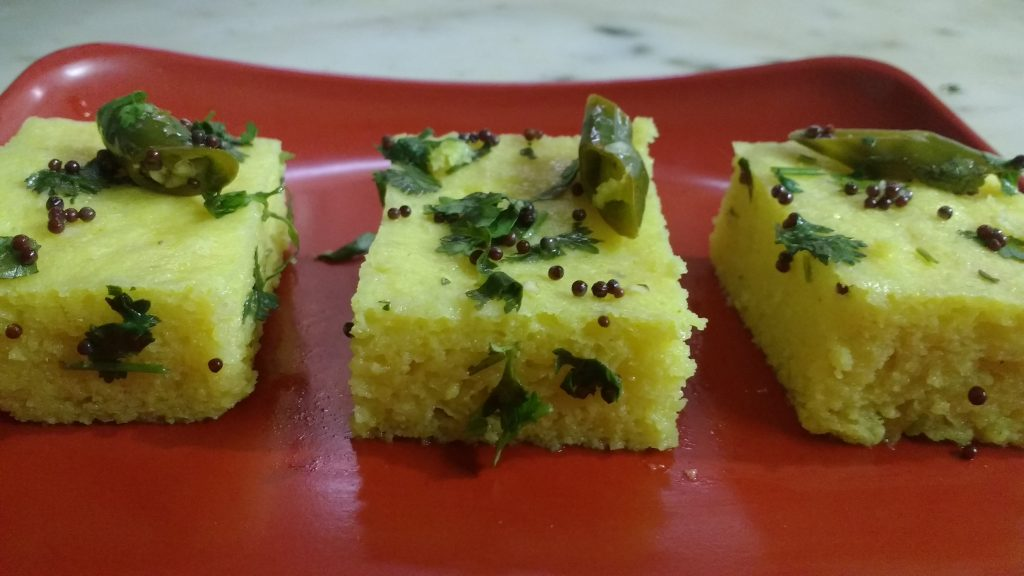Moong Dal Dhokla - Yummy Breakfast