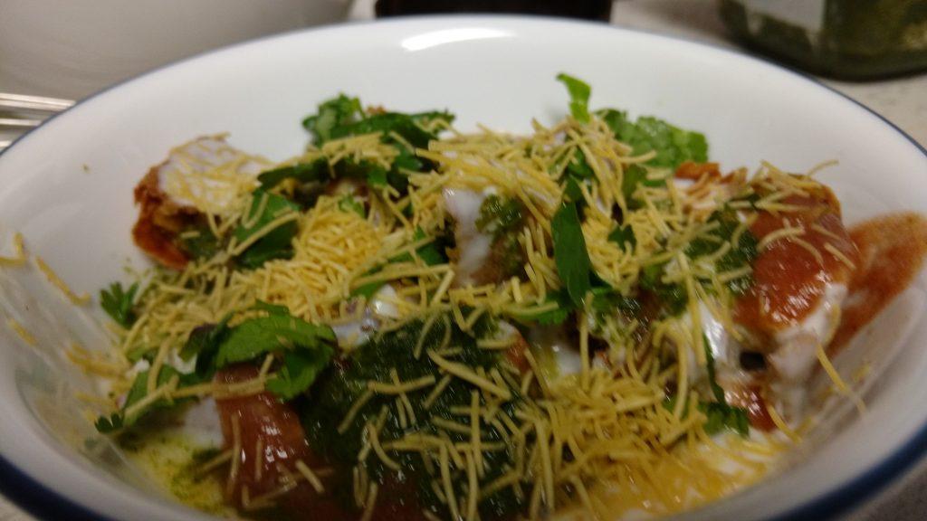 Baked Khasta Kachori Chaat - Yummy