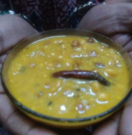 Black Chana Kadhi With Mango Flavor - Yummy