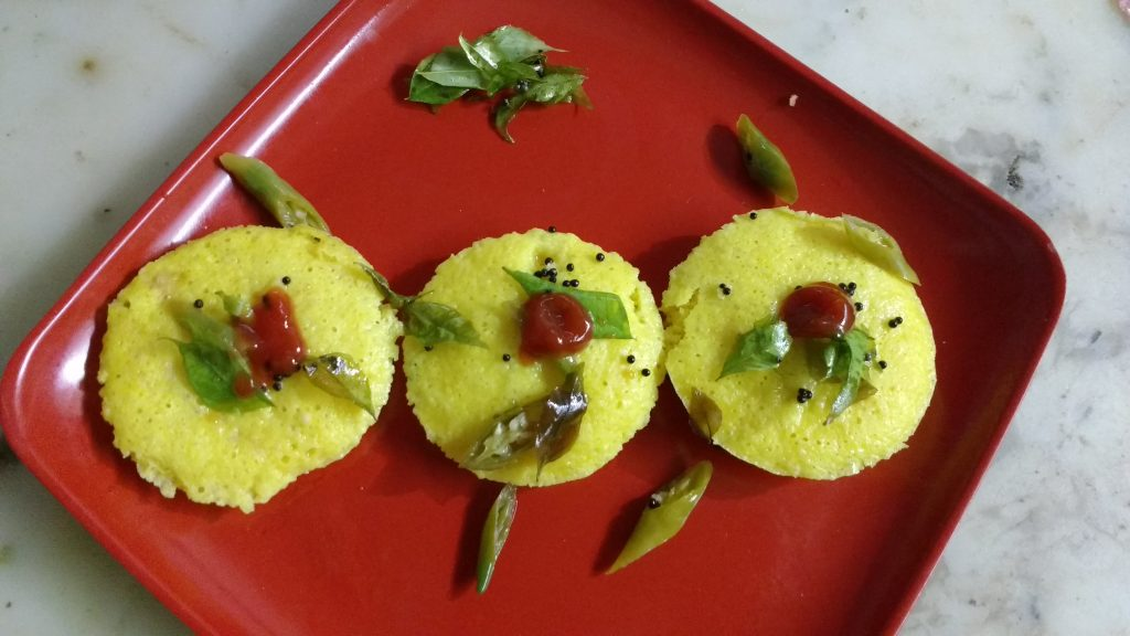 Idli Dhokla - South Indian Cuisine!