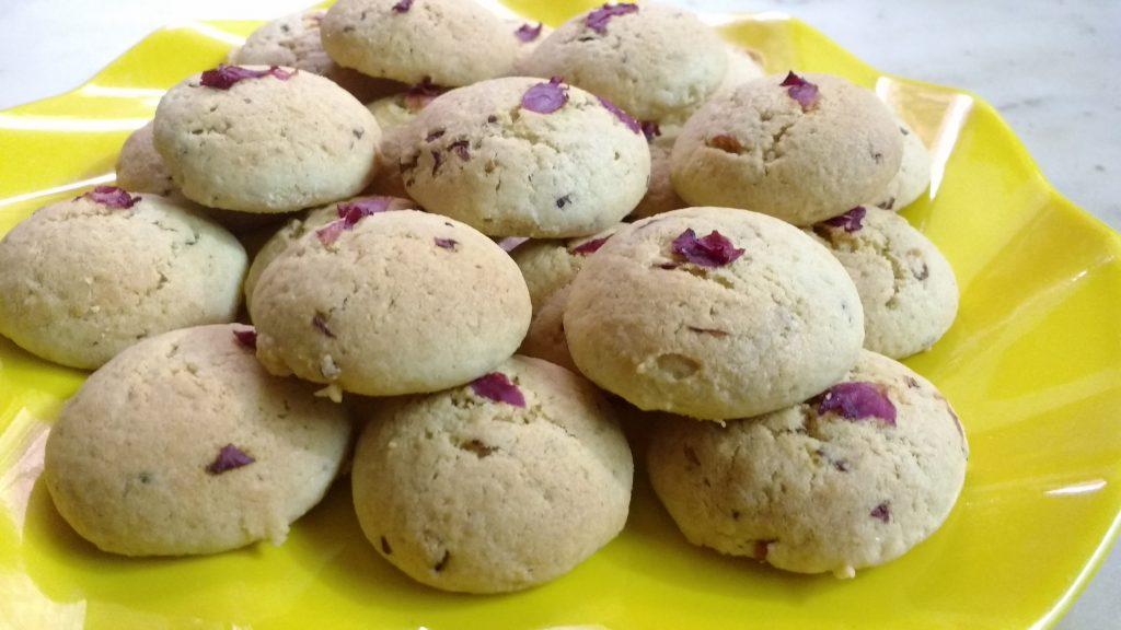 Homemade Cookies - Rose Flavored!