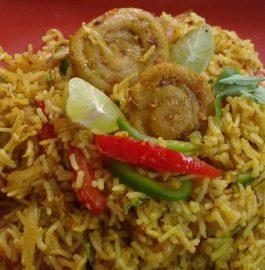 Chakli Gatta Pulav - Rajasthani Special!