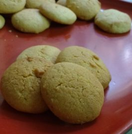 Besan Butter Cookies - Yummy!!!